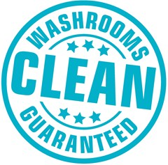 Clean Washrooms Guaranteed